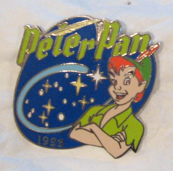 Disney Pins :  Peter Pan , Countdown to the Millennium series # 74 Pin