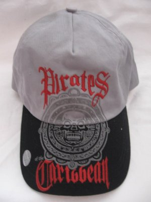 New Disney Store Cotton CAP - Pirates of the Caribbean , Adult size