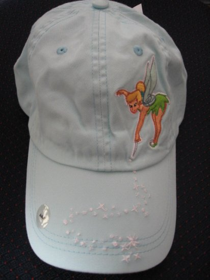New Disney Store Cotton CAP - Tinkerbell -  Women