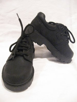 New BASS Oxford Leather Boy's Toddler Shoes sz 11 1/2 M