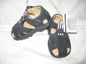 New Scott David Leather Toddler Sandals , size 4 M