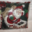 "New CHRISTMAS HOLIDAY PILLOW , size 18"" X 18"""