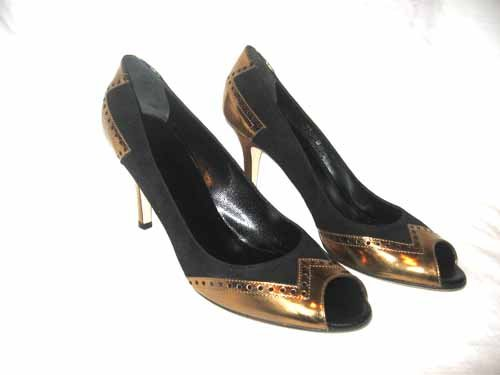 $550 New in Box Authentic GUCCI Women  DRESS HEEL PUMPS Shoes SUEDE sz 10