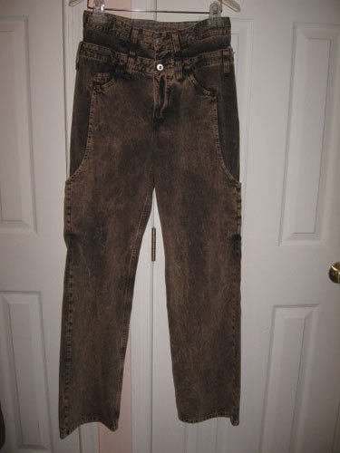 NEW with TAG MICHIKO KOSHINO YEN Men Jeans size 28 RARE