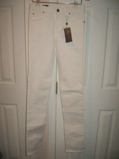 New with TAG Authentic GUCCI WOMEN JEANS WHITE size 38 ITALY - FREE SHIPPING.