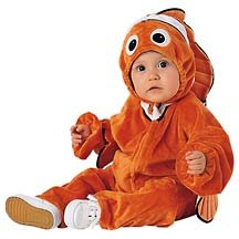 New Disney Nemo 2-Pc. Costume for Infants, Size 6 M (6 -12 months)  - Free Shipping on this item!
