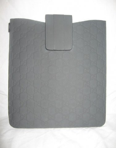 NEW Authentic GUCCI rubberized GUCCISSIMA LEATHER iPad CASE - FREE SHIPPING