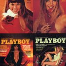 Playboy Centerfold Cards March Uncut 4-card Promo
