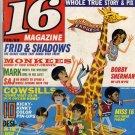 16 Magazine Feb 1969 Monkees Dark Shadows Mod Squad