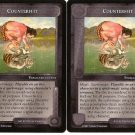 Counterfeit X2 The White Hand Middle Earth CCG