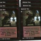 Behind You X6 Obfuscate Jyhad Rare VtES