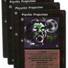 Psychic Projection X4 Physchic Jyhad Auspex Rare VtES