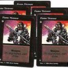 Flame Thrower X5 VtES Jyhad Vampire CCG Trading Card