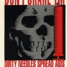 Aids Awareness trading cards Chase Card Sticker D 1993