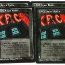 KRCG News Radio X4 VtES Jyhad Vampire CCG Trading Card