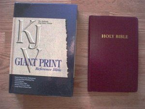 Giant Print Reference Bible-SALE