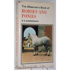The Observers Book of Horses and Ponies-SALE