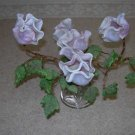 Vintage Glass Flowers