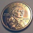 2000 Sacagawea Dollar D-FREE SHIPPING