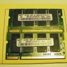 2  256MB PC2100 Matched Set Laptop Memory-FREE SHIPPING
