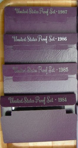 10 US Proof Coin Sets-Boxes and COA-FREE SHIPPING