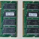 Laptop Memory PC 4200 1 GB DDR-FREE SHIPPING