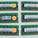 Lot of 6 512MB PC4200 Ram Laptop -FREE SHIPPING
