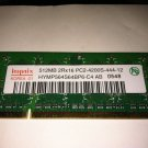 Hynix 512MB PC5300 Laptop Ram FREE Shipping