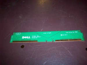 ELL PWB 9578D REV A02 SDRAM RAMBUS CONTINUITY STRIPS FILLERS