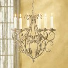 New Wrought Iron Royality's Chandilier