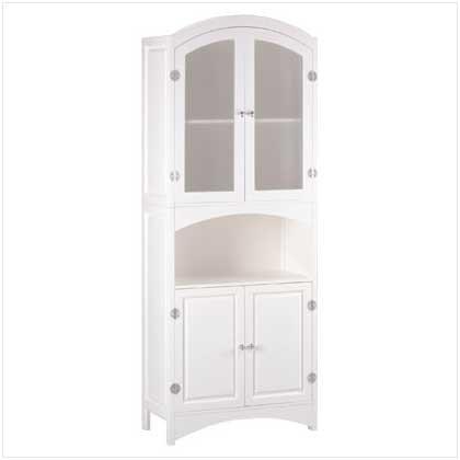 New Linen Cabinet White