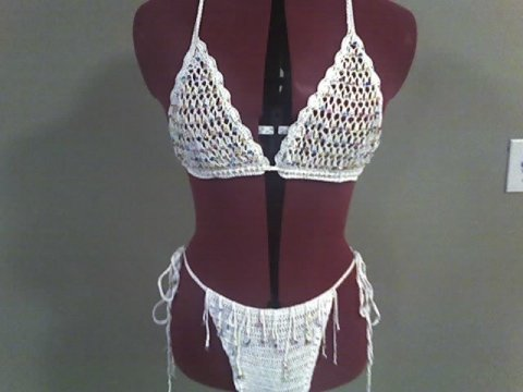 Beaded String Bikini