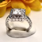 R0016 - RING WITH CLEAR CZ (FREE SHIPPING)