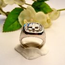 R0050 - RING MAN'S WITH CUBIC ZIRCONIA (FREE SHIPPING)
