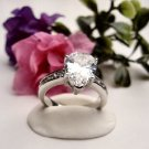 R0053 - RING WITH CLEAR CUBIC ZIRCONIA (FREE SHIPPING)