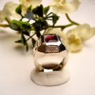 R0061 - RING MAN'S WITH PURPLE AMETHYST CUBIC ZIRCONIA (FREE SHIPPING)