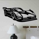 Race Car wall decal kids bedroom wall decor boy or girl