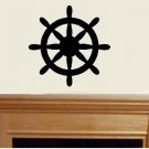Ships Wheel vinyl wall decal living room family room wall decor