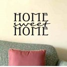 wall quote sticker decal Home Sweet Home living room foyer wall decor