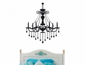 chandelier wall sticker decal great addition to any home decor