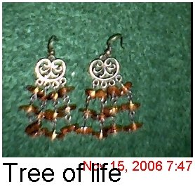 Tree of Life Ear Rings