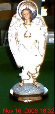 "St. Gabriel Archangel  8"" Statue/God's Messenger"