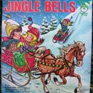 """""""JINGLE BELLS"""" 45 RPM Record PETER PAN EARLY 1970's"""
