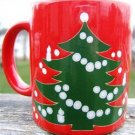 WAECHTERSBACH CHRISTMAS TREE & CANDLES MUG  W. GERMANY