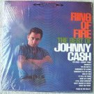 BEST OF JOHNNY CASH RING OF FIRE VINYL ALBUM CS 8853