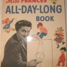 RAND McNALLY Miss Frances' ALL-DAY-LONG Book 1954
