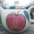VINTAGE PURINTON WARE PEAR & APPLE SINGLE SERVE TEAPOT