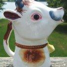 VINTAGE COW CREAMER & ORIGINAL NOISEMAKER 1950's  MOO!!
