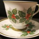 NORLEANS CHRISTMAS IVY CUP & SAUCER COMBO - JAPAN NICE!