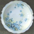 VINTAGE LEFTON CHINA BOWL W/ BLUE FLOWERS & GOLD TRIM
